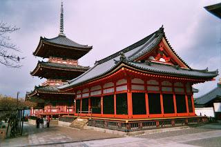 Kiyomizu-dera the Temple of Kiyomizu, Kyoto Japan