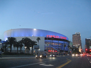 Staples Center, one of the World's most famous arenas. Home to the Los Angeles Clippers, Los Angeles Kings, Los Angeles Sparks & Los Angeles Lakers.