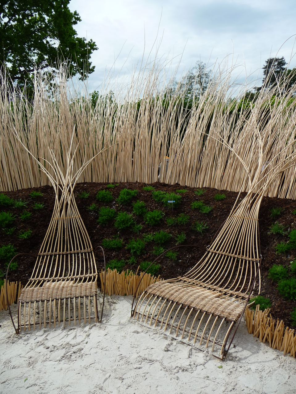 nibelle et baudouin festival des jardins de chaumont sur loire 2010. Black Bedroom Furniture Sets. Home Design Ideas