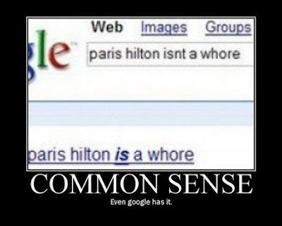 funny google blooper paris hilton
