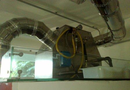 Abbattitori di fuliggine depuratori di fumi per forni a for Abbattitore fumi per stufe a pellet