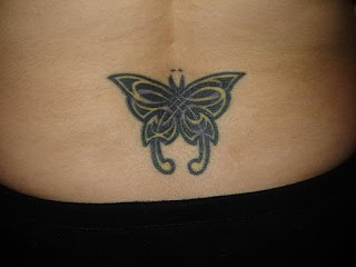 Butterfly Tattoos With Image Female Tattoo With Butterfly Lower Back Tattoo 5