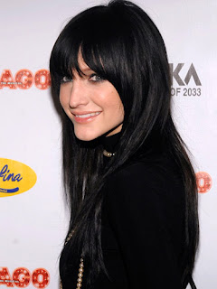 Celebrity Hair Styles, Ashlee Simpson Hairstyles, Long Hair, Black Hair, Wavy Hair