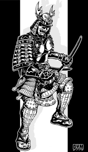 Free Japanese Samurai Tattoo Design Picture 2