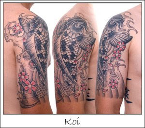 Shoulder Japanese Tattoos Especially Koi Fish Designs With Image Shoulder Japanese Koi Fish Tattoo For Male Tattoo Gallery Picture 6