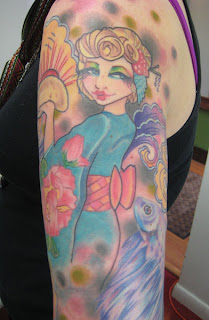 Japanese Tattoos Especially Geisha Tattoo Designs With Image Shoulder Japanese Geisha Tattoo For Female Tattoos Gallery Picture 5
