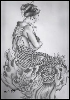 Japanese Geisha Tattoo Design Picture 3