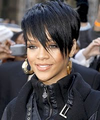 Celebrity Hair Styles With Image Rihanna's Short Hairstyle Gallery Picture 4