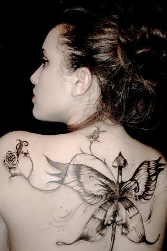 Best tattoo blog ever upper back tattoos female for Best back tattoos