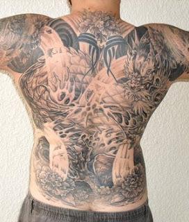 Back Body Japanese Tattoo Ideas Especially Dragon Tattoo Designs With Picture Back Body Japanese Dragon Tattoo Gallery 3