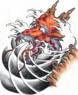 Japanese Tattoo Ideas With Japanese Dragon Tattoo Designs Gallery 3