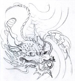 Japanese Dragon Tattoo Ideas With Japanese Head Dragon Tattoo Designs