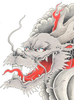 Japanese Dragon Tattoo Ideas With Japanese Head Dragon Tattoo Designs Gallery 6