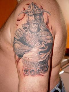 Shoulder Viking Tattoos 4