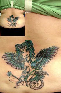 Cool Lower Back Tattoo Ideas With Fairy Tattoo Designs With Image Lower Back Fairy Tattoos For Women Tattoo Gallery 7