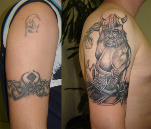 Shoulder Tattoo Ideas With Viking Tattoo Designs With Picture Shoulder Viking Tattoo Gallery 5