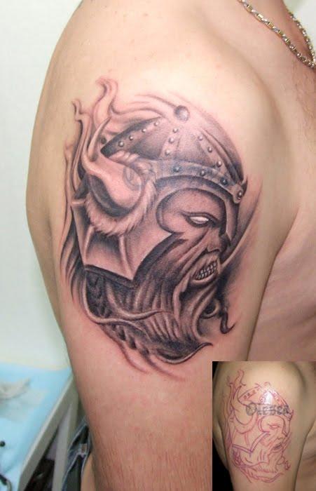 Shoulder Viking Tattoo Design 5