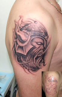 Shoulder Viking Tattoo Design 6