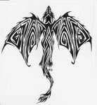 Tribal Tattoos With Image Dragon Tribal Tattoo Designs Picture 1