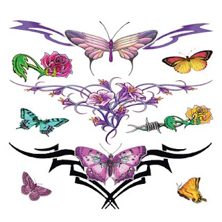 Lower Back Tattoos With Image Lower Back Butterfly Tattoo Designs With Butterfly Tribal Tattoo Picture 6