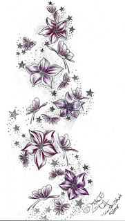 Butterflies And Stars Tattoo Designs Picture 1