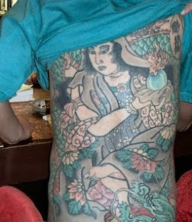 Beautiful Japanese Geisha Tattoo Designs 1