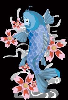 Beautiful Koi Fish Tattoo Designs 5