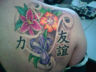 Japanese Shoulder Tattoo Design