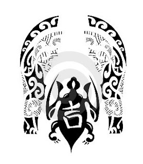 Maori Tribal Tattoo Design