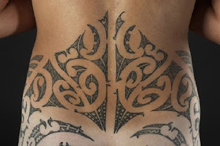 Lower Back Maori Tattoo