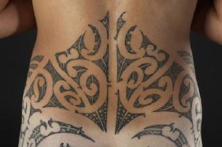 Lower Back Maori Tattoo