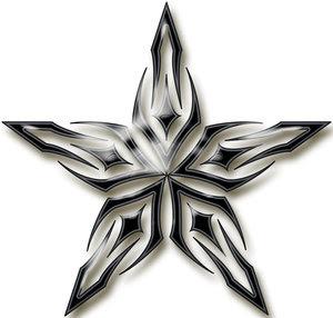 Cool Star Tattoo Designs Gallery 3