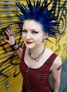 Female With Punk Hairstyles Picture 8