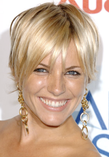 Sienna Miller Short Hair Cut