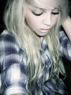 Long Blonde Emo Hairstyle, Emo Hair, Emo Long Hair, Emo Hairstyles, Emo Blonde Hair, Emo Girls Hair,