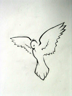 Dove Tattoo Design 6