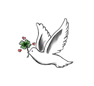 Dove Tattoo Design 1