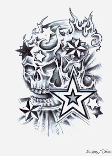 Skull Tattoo Design 3