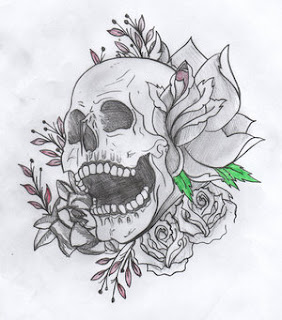 Skull Tattoo Design 2