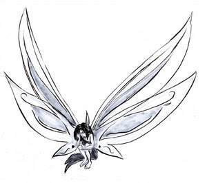Fairy Tattoo Design 5