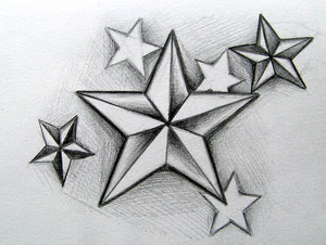 Beautiful Art of Tattoos Design With Image Star Tattoo Design Picture 4