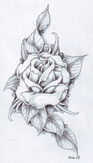 Beautiful Art of Tattoos Design With Image Flower Rose Tattoo Design Picture 6