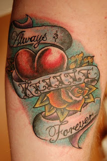 Beautiful Art of Tattoos Design With Image Heart Tattoo Design Picture 2
