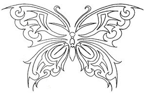 Beautiful Art of Tattoos Design With Image Butterfly Tattoo Design Picture 6