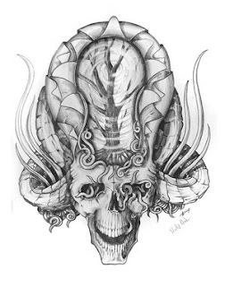 Beautiful Art of Tattoos Design With Image Skull Tattoo Designs Picture 9