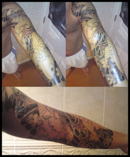 Sleeve Japanese Tattoos Especially Koi Fish Tattoo Designs With Image Japanese Sleeve Koi Fish Tattoo Gallery Pictures 7