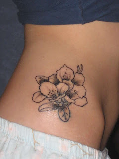 Cherry Blossom Tattoo, Japanese Tattoo, Side Body Tattoo, Female Tattoo, Flower Tattoo, Japanese Cherry Blossom Tattoo, Tattoos, Tattoo Designs, Feminine Tattoo, Sexy Tattoo