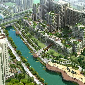 Interesting Green: New Punggol Waterway design