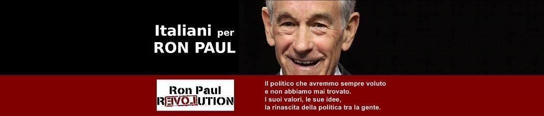 Italiani per Ron Paul - Elezioni USA 2008