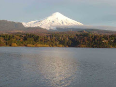 Lago y volcán Villarrica, Chile